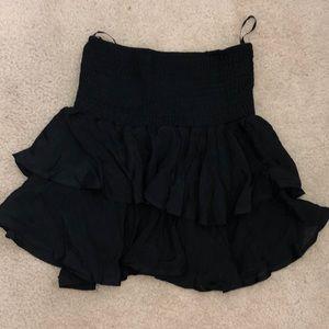 Shein ruffle skirt